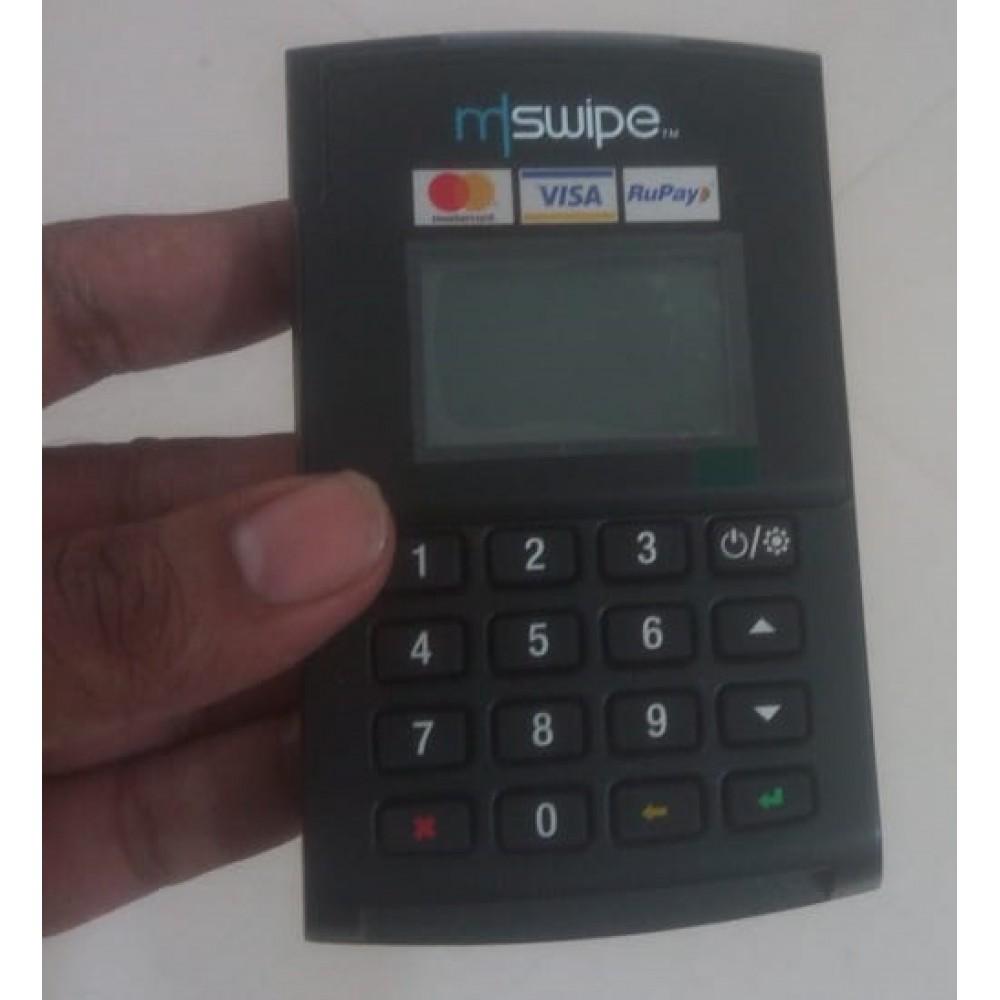 [Debit/Credit Card Swiping Machine]