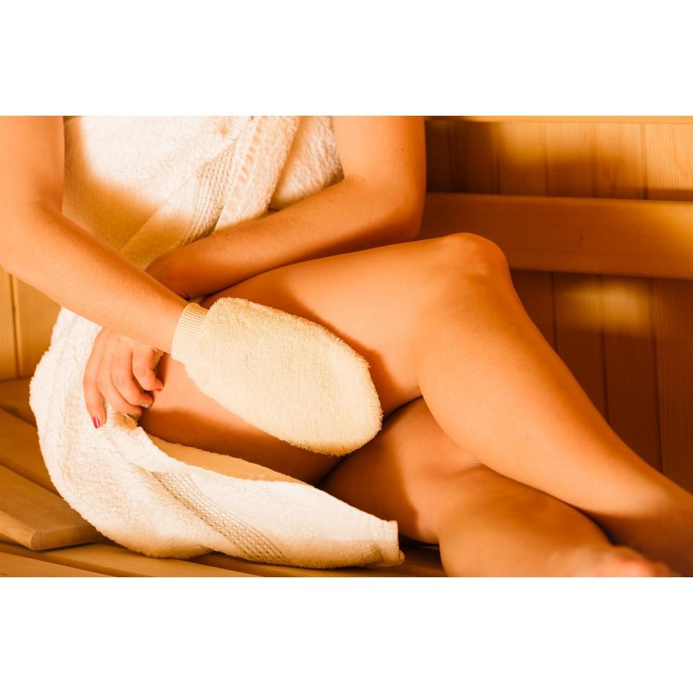 Dry Thigh Yoga Massage