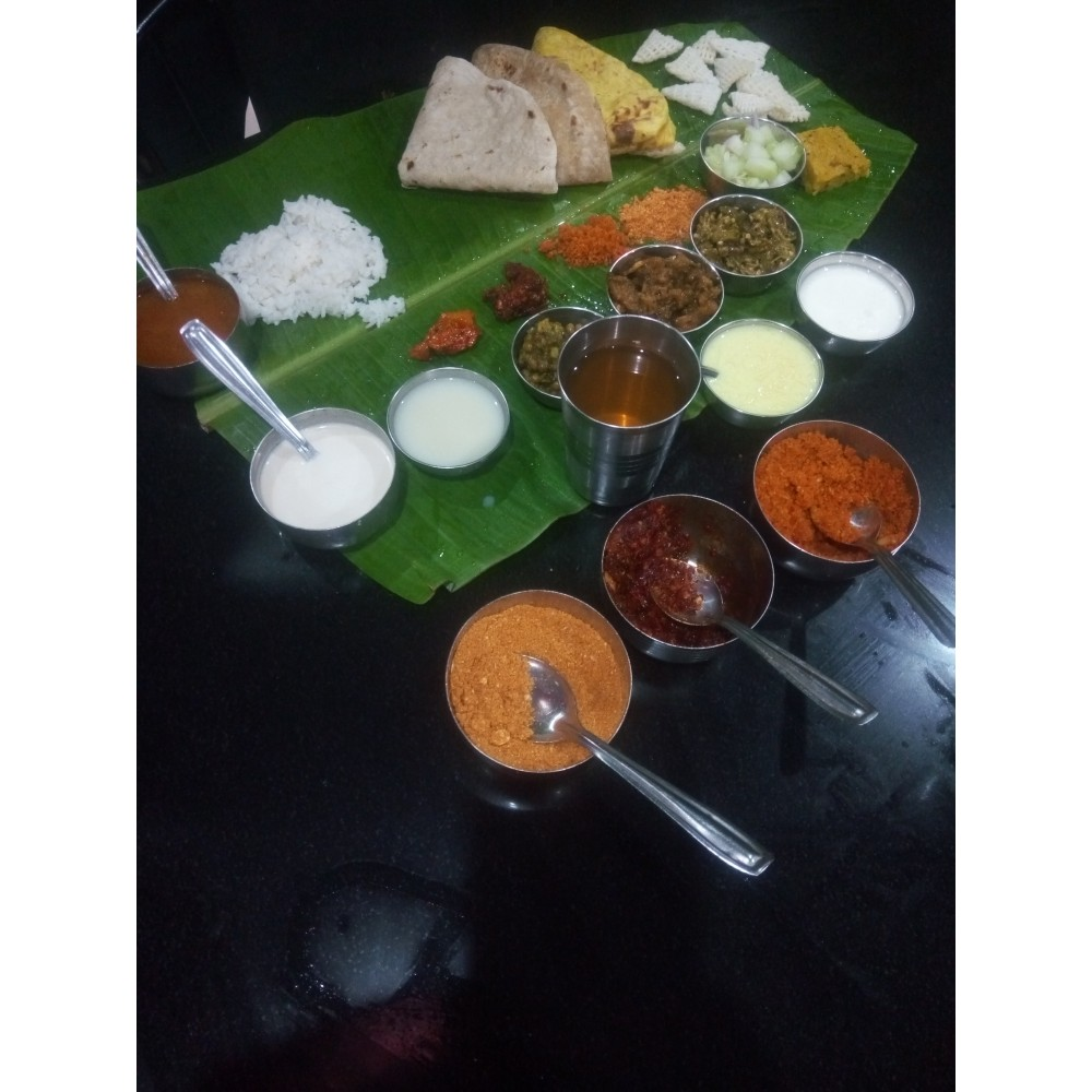 Jawar Roti/Chapati Thali